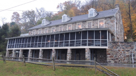 Rock Commercial Real Estate photographs York County's Accomac Inn in 2018 right after recent closing after the owner put it up for sale, and is currently listed at 530 thousand dollars. Photo by Rock Commercial.