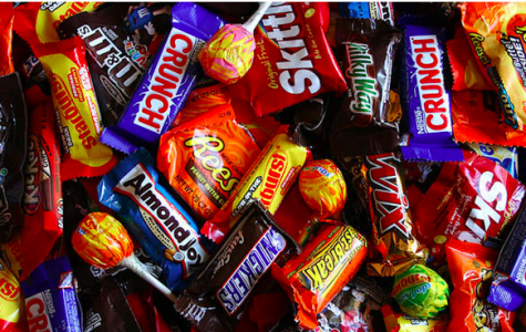 An assortment of popular Halloween candy. Photo by Hilltop Times.