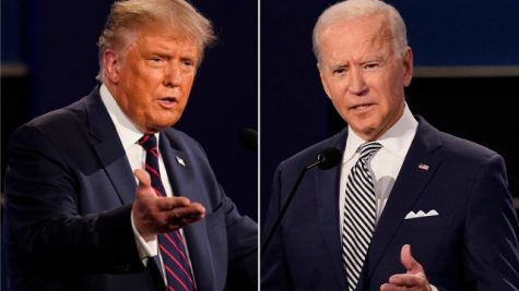 President Trump and Joe Biden battled one final team in the 2020 presidential election in Tennessee. Photo from Newsday.