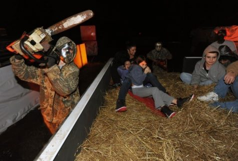 The Haunted House attraction is one of the most popular attractions at Field of Screams. This photo was taken in 2019, but this attraction is still open. Photo by Michael En.