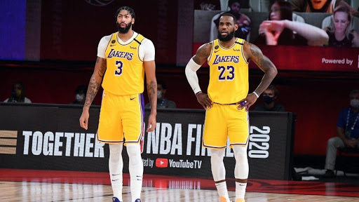 Anthony Davis and LeBron James, arguably two of the best players in the league today, race to win Finals MVP.   Submitted Photo.