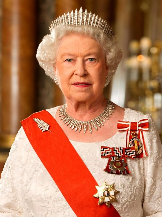 Queen Elizabeth II poses for a regal picture. Submitted Photo.