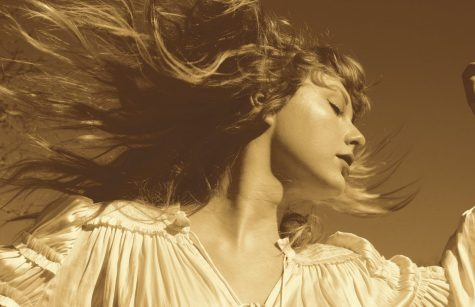 Taylor Swift's new cover for the Fearless Taylor's Version album.  Photo by Taylor Swift.