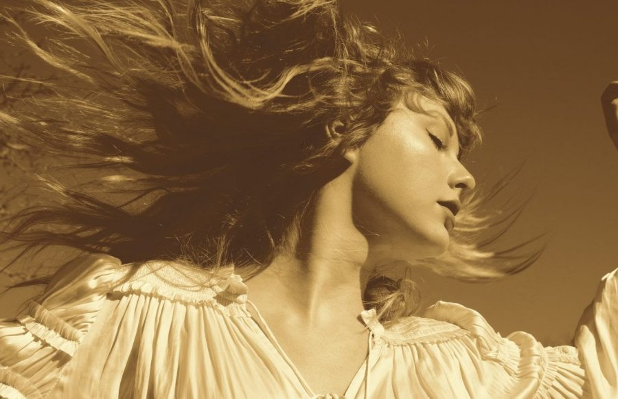 Taylor+Swift%E2%80%99s+new+cover+for+the+Fearless+Taylor%E2%80%99s+Version+album.+%0APhoto+by+Taylor+Swift.+%0A