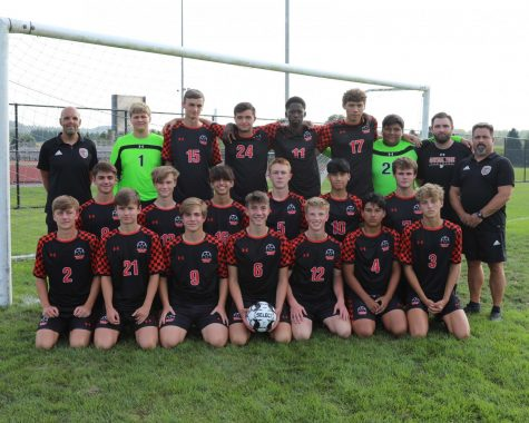 Central York Boys Soccer Team 2021-2022