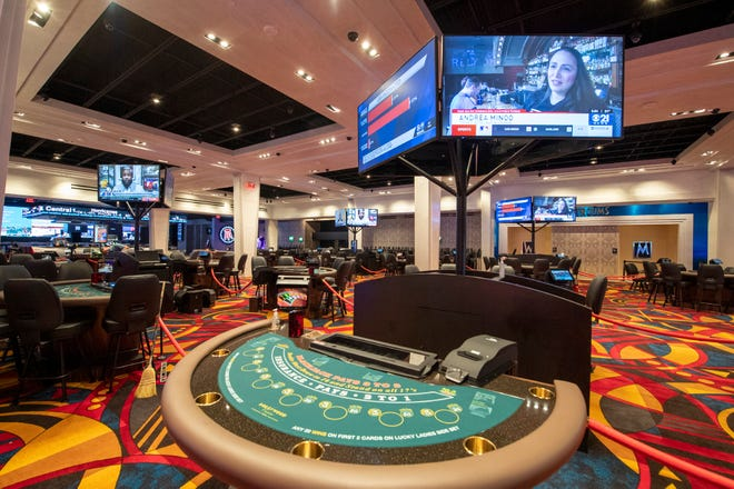 An+inside+look+at+a+selection+of+table+games+in+Hollywood+Casino+York.