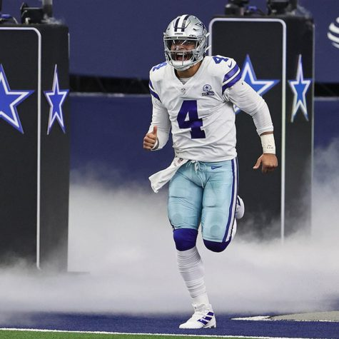 Dak Prescott takes the field for opening day