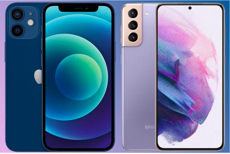 The two phones come in a couple of different colors.
